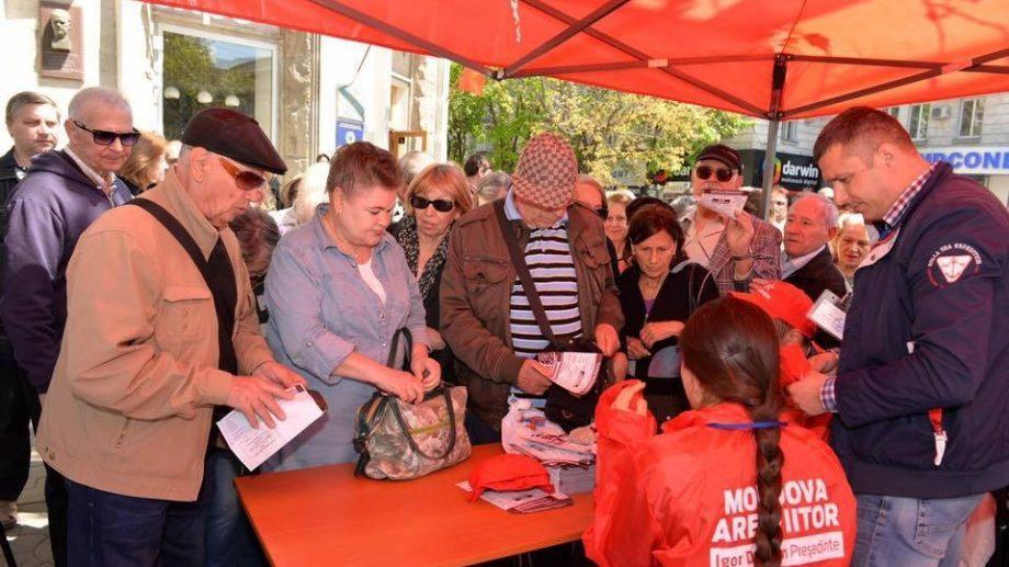 (Видео) Начался сбор подписей в поддержку референдума об отставке Дорина Киртоакэ