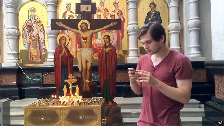 Российский блоггер, который ловил покемонов в храме, был арестован