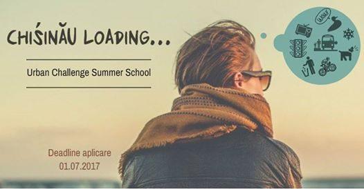 Студенты могут зарегистрироваться на летнюю школу Chisinau Loading Urban Challenge Summer School