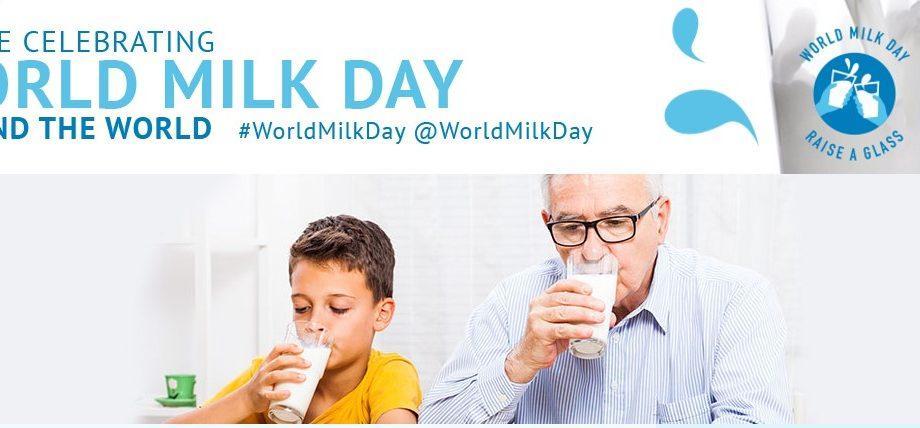 В социальных сетях начался челлендж «Raise a glass», приуроченный к Всемирному дню молока