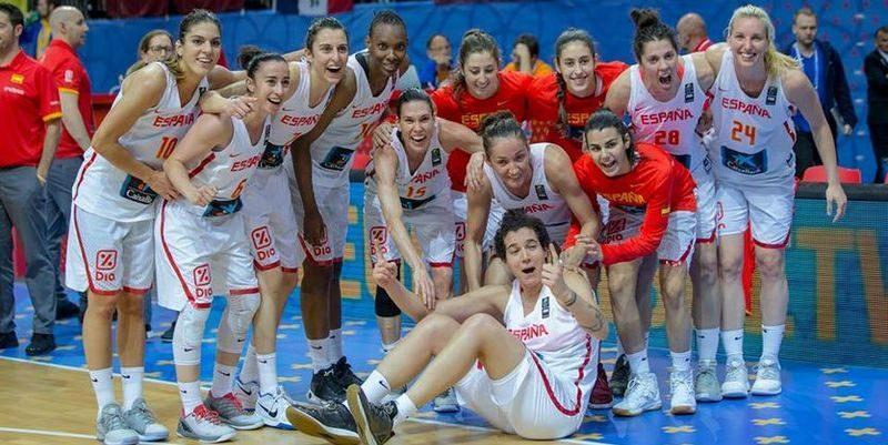 Женская сборная Испании по баскетболу в третий раз завоевала титул чемпионов Европы