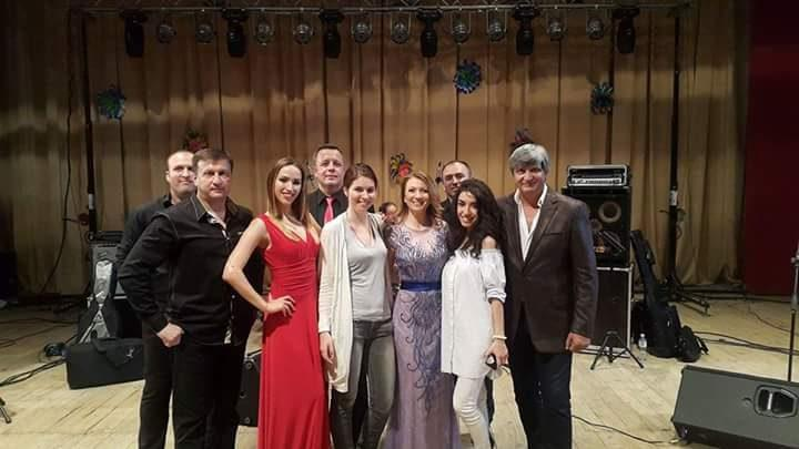 В Чадыр-Лунге состоялся промо-концерт российской певицы Алины Делисс