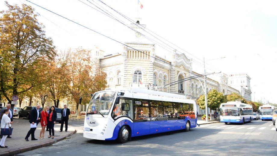 В Кишиневе появится новый троллейбусный маршрут №30. На нем можно будет добраться до аэропорта