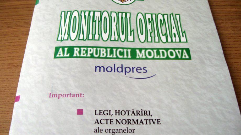 """Закон о внесении изменений в избирательную систему опубликован в """"Monitorul Oficial"""""""