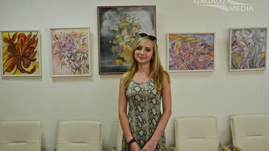 Персональная выставка молодой гагаузской художницы Илоны Дерменжи открылась в Комрате