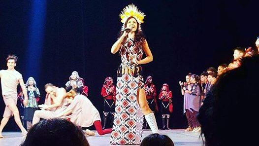 (фото, видео) Молдавская певица Keya выступила на музыкальном конкурсе «Global-Fest-2017»