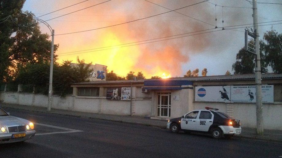 По случаю пожара на Республиканском Стадионе, заведено уголовное дело