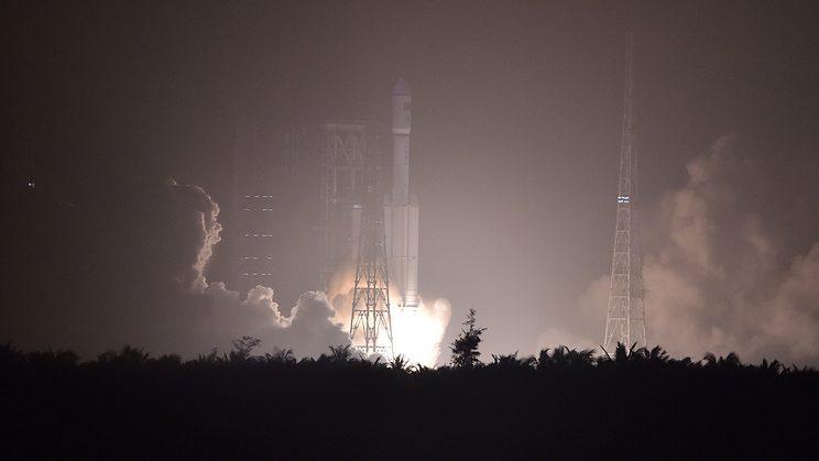 Запуск китайской ракеты-носителя прошел неудачно