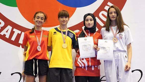 Молдавская спортсменка Полина Гуренко стала чемпионкой мира среди молодежи по каратэ