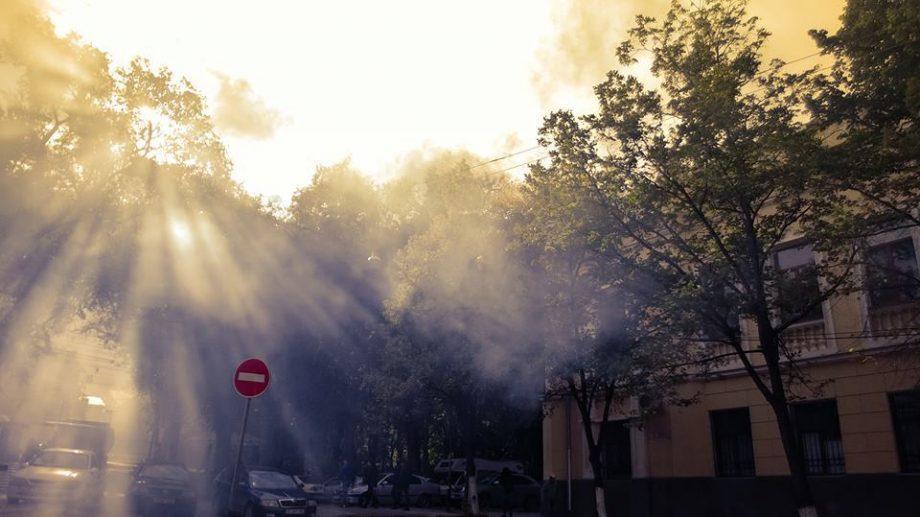 В Кишиневе объявлен желтый код в связи с повышенным загрязнением воздуха