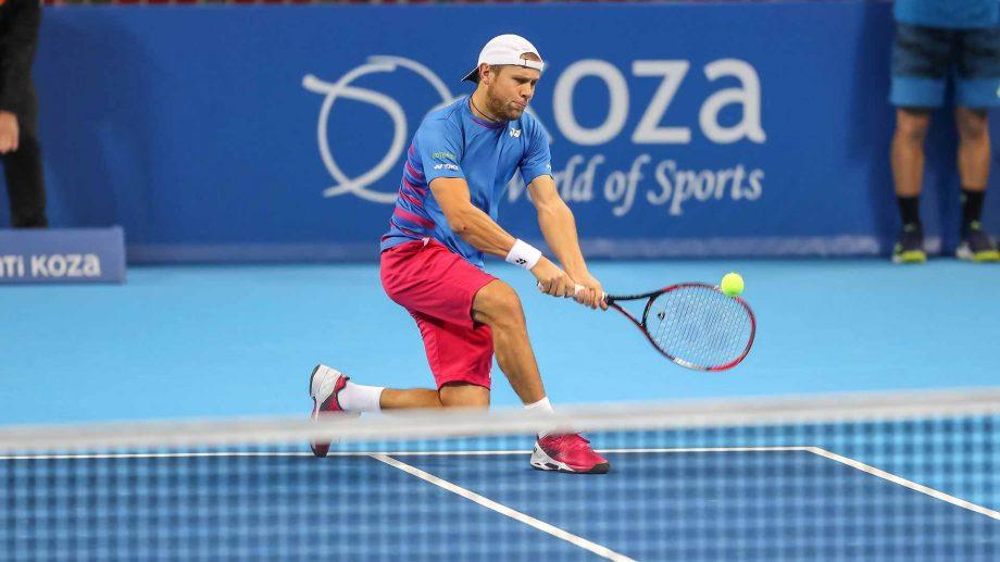 Молдавский теннисист Раду Албот обыграл аргентинца Факундо Баньиса в четырех сетах