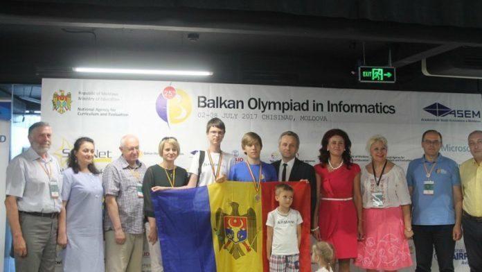 Ученики из Молдовы завоевали золото и бронзу на Балканиаде по информатике