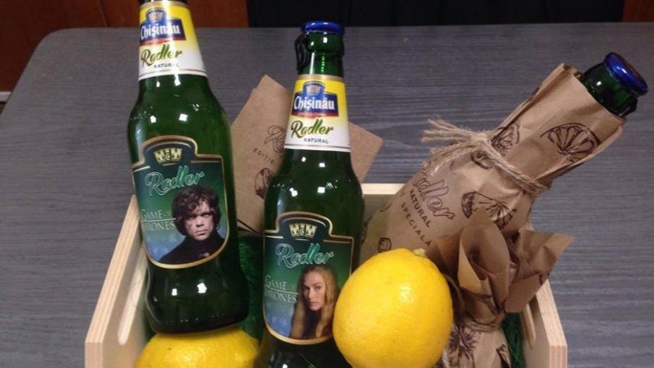 (фото) Как выглядят бутылки лимитированной серии Radler Game of Thrones
