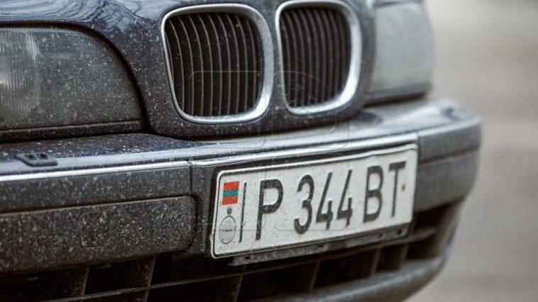 С 1 июля автомобили с приднестровскими номерами не имеют права ездить на правом берегу Днестра