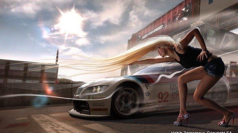 (фото) Модель из Кишинева была выбрана на роль «Королевы дороги» в игре Need for Speed