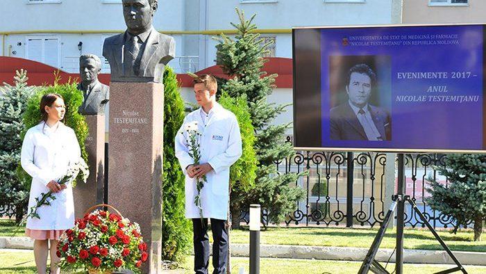 (фото) В Кишиневе почтили память Николая Тестемицану