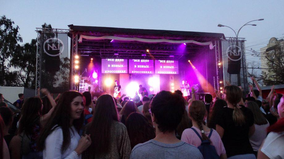 (фото, видео) Рок-концерт: Nuteki + No Longer Music. Как прошел концерт под открытым небом