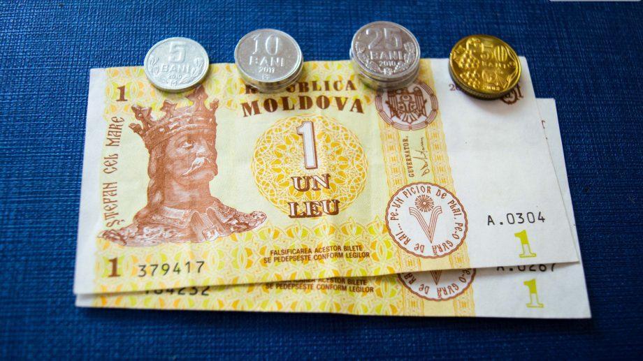 В Молдове разрабатывается концепт монет номиналом в 1 и 2 лея