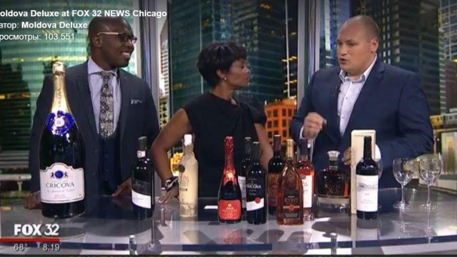 (видео) На американском телеканале попробовали молдавское вино