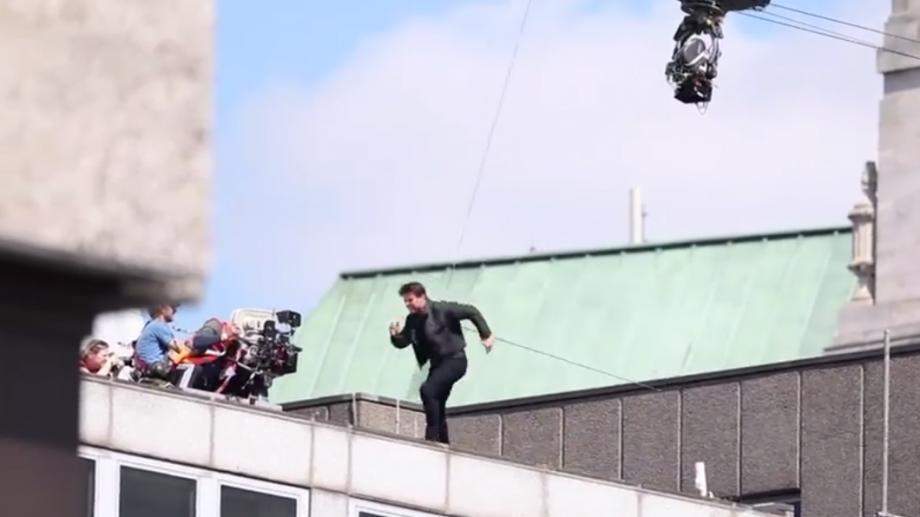 """(видео) Том Круз получил травму на съемках шестого фильма """"Миссия невыполнима"""""""