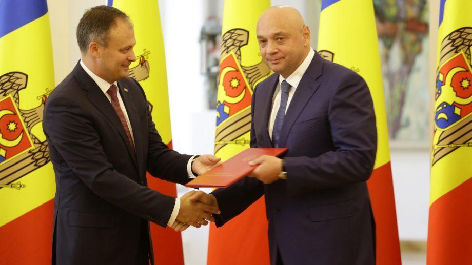 Президент Федерации тхэквондоWTFМолдовы Игорь Юзефович удостоен награды парламента