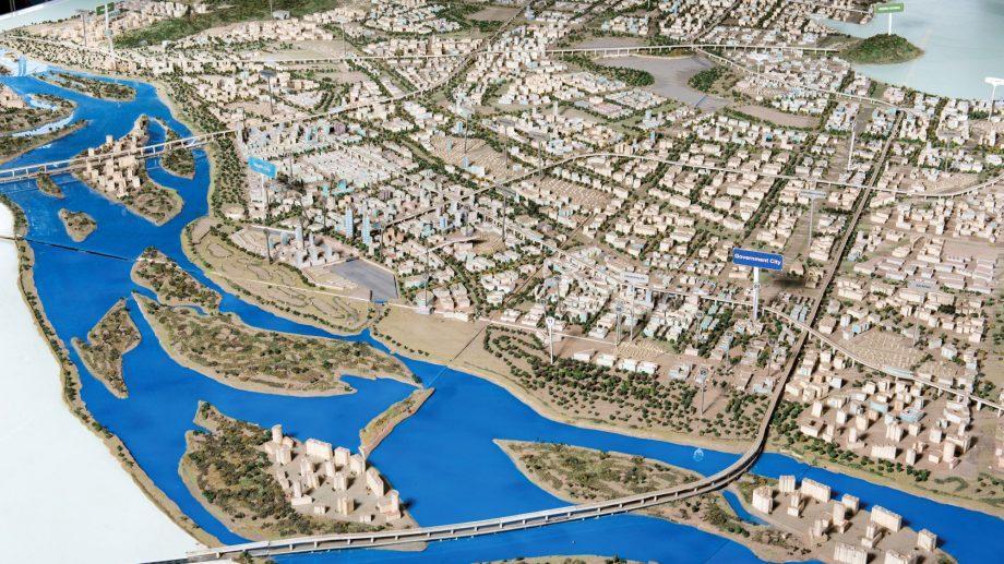 (фото) В Индии с нуля строится город на 11 миллионов человек