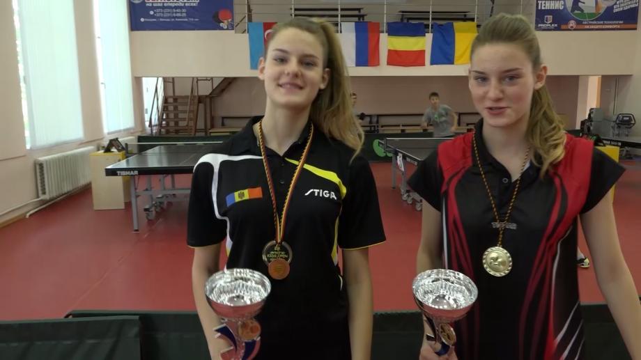 Бельцкие теннисисты привезли из Германии шесть медалей