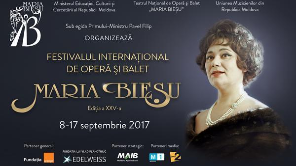 XXV Международный Фестиваль Оперы и Балета имени Марии Биешу стартует в пятницу