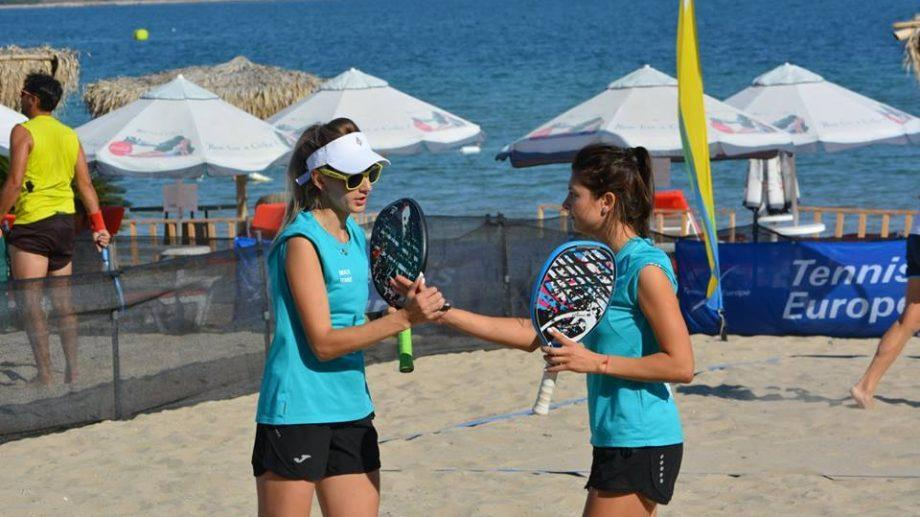 (фото) Сборная Молдовы по пляжному теннису заняла 13 место на Чемпионате Европы