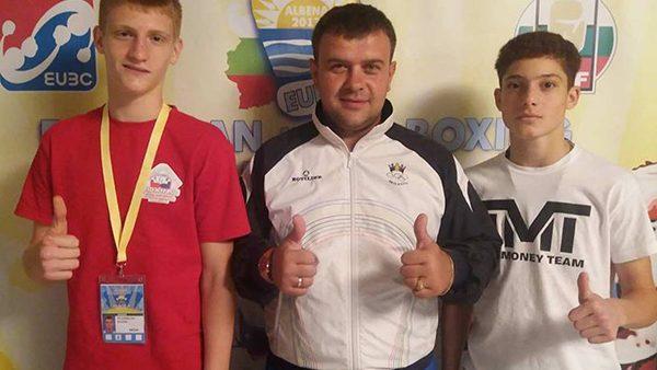 Еще два молдавских боксера завоевали медали на Чемпионате Европы