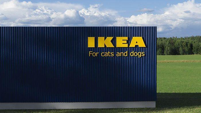 (фото) IKEA запустила линейку мебели и аксессуаров для животных. кажется, это успех