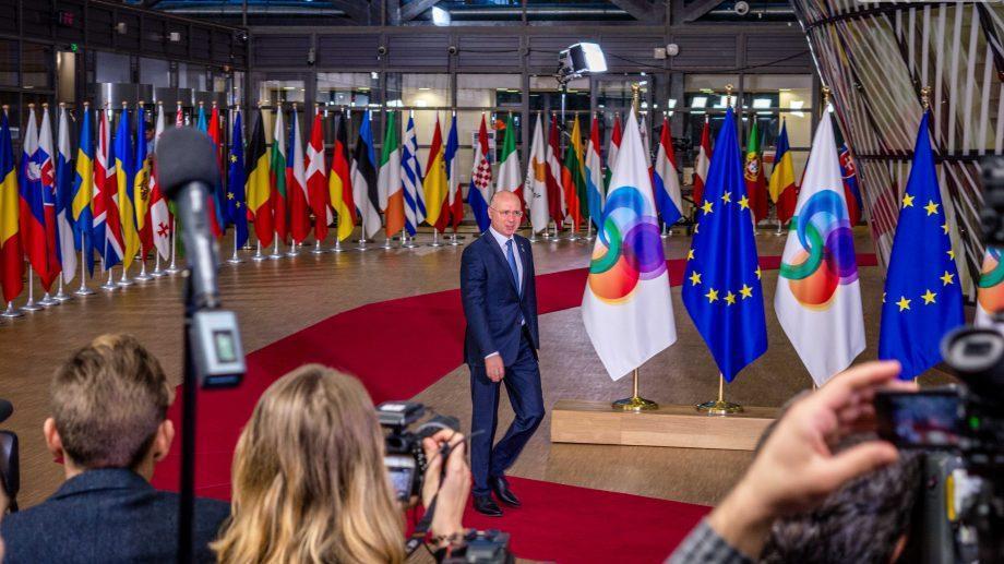 (фото) Павел Филип совершает официальный визит в Брюссель. Как прошла встреча с еврокомиссаром и председателем Европейского совета