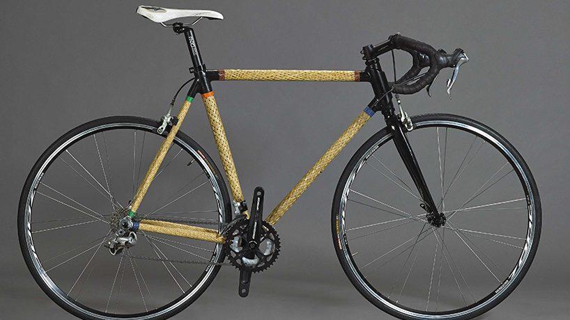 (фото) Велосипед из бамбука: а вы бы прокатились на таком?