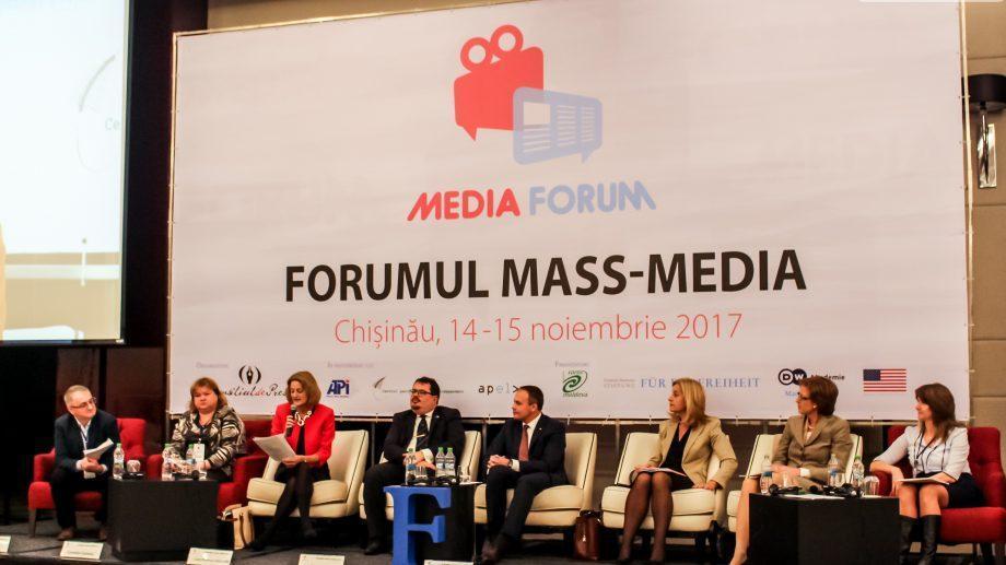 На Медиа-форуме 2017 обсуждаются проблемы молдавских СМИ