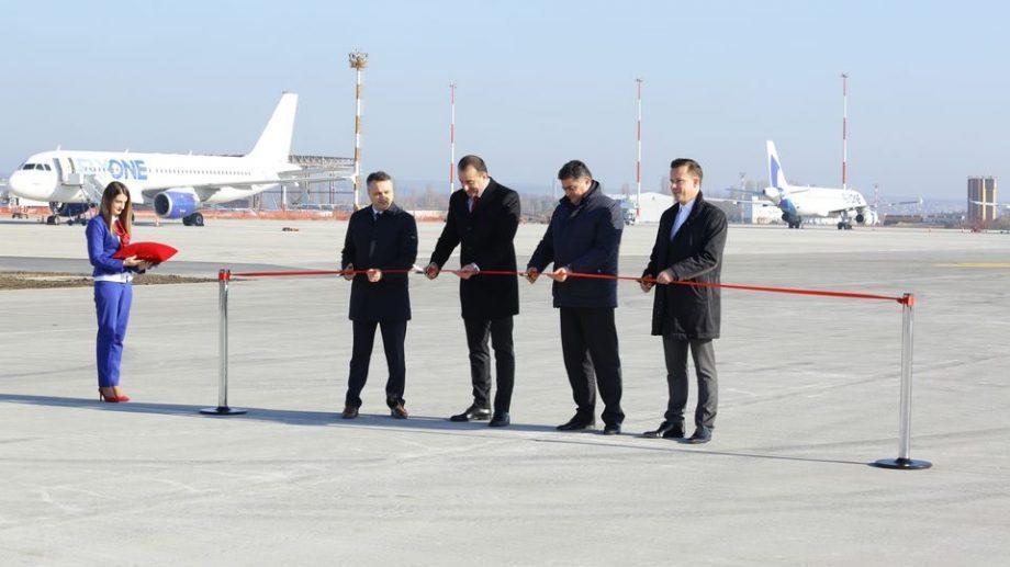 (фото) Вторая взлетно-посадочная полоса в Кишиневском Аэропорту скоро будет готова к эксплуатации