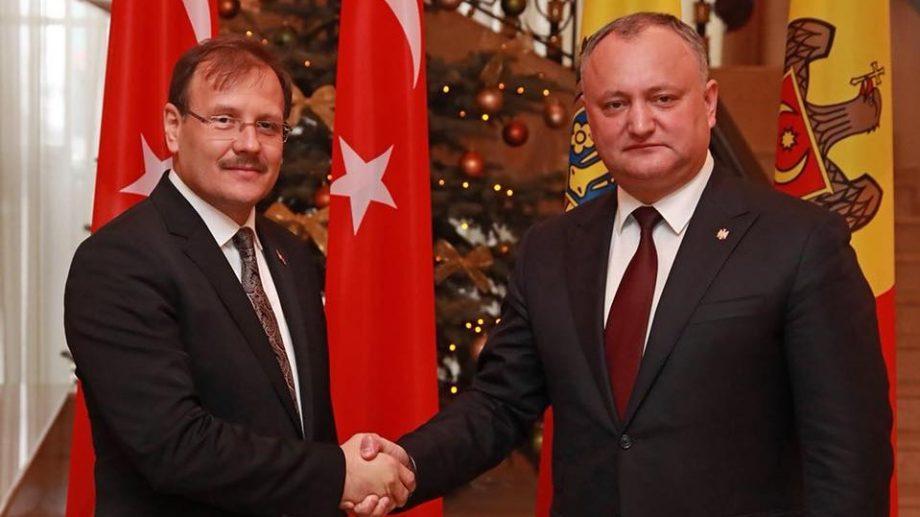 """Игорь Додон: """"Турция является стратегическим партнером для нас"""""""