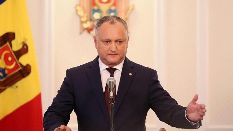 (док) Игорь Додон снова отклонил кандидатуры на должности министров, предложенные Правительством