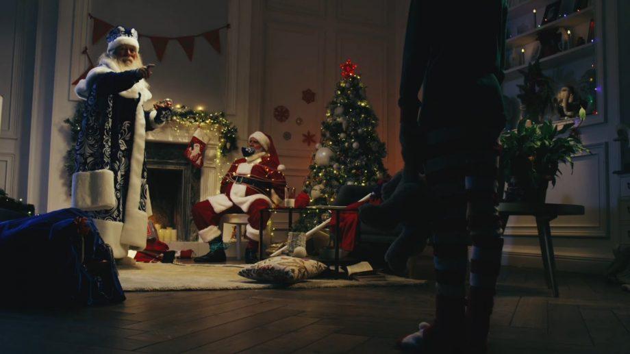 (видео) Russia Today опубликовали агрессивный ролик о Санта Клаусе