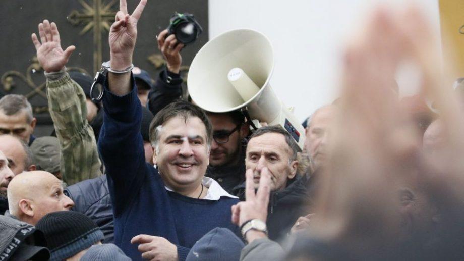 Свободен. Печерский суд отказался арестовать Саакашвили на время расследования