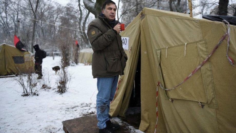 Михаила Саакашвили задержали в Киеве