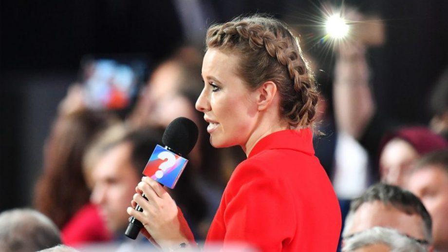 (видео) Собчак спросила Путина о Навальном и выборах президента