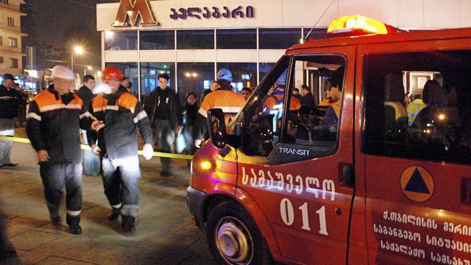 В метро Тбилиси рухнул потолок, есть пострадавшие