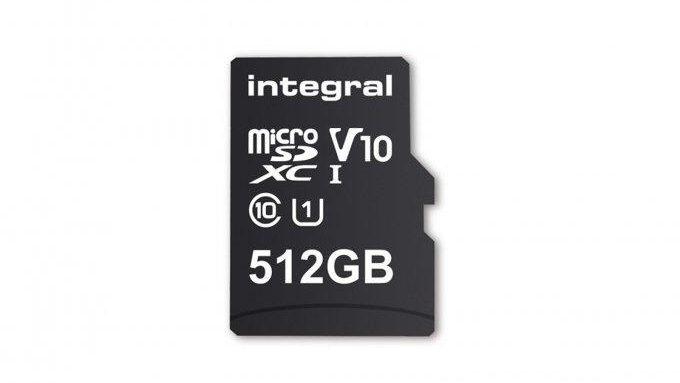 Integral Memory представили первую в мире карта памяти microSD на 512 ГБ