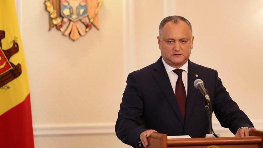 Конституционный Суд временно отстранил от должности Президента Игоря Додона