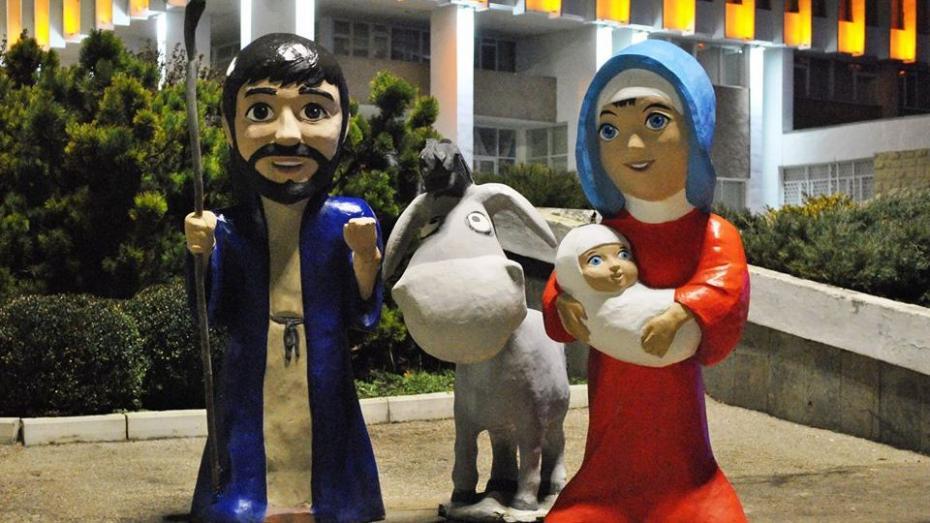 (фото) Как украсили Тирасполь к Рождеству
