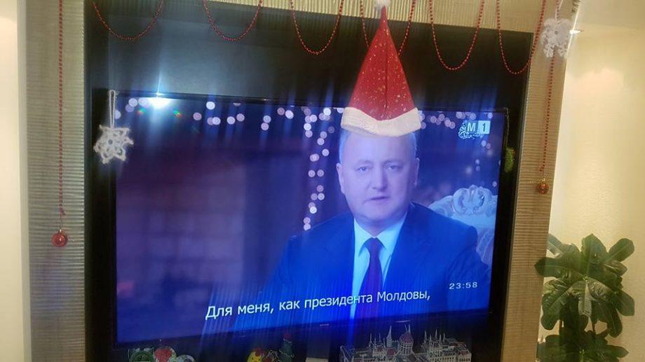 (фото) Первый флешмоб 2018 года! Реакция пользователей Facebook на Новогоднюю речь Игоря Додона