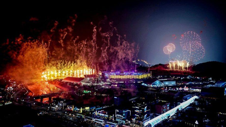 (фото) Церемония открытия зимних Олимпийских игр в Южной Корее