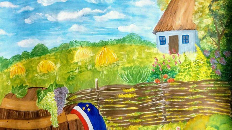 """В Гагаузии завершился конкурс школьных рисунков """"С чего начинается Родина?"""""""