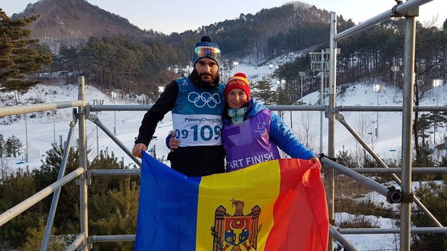 (фото) Лыжник Николае Гайдук финишировал на 106-м месте в гонке на 15 км в Пхенчхане