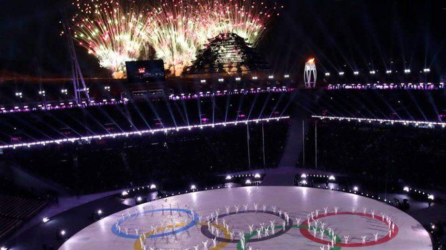 (фото) В Пхенчхане завершилась Зимняя олимпиада 2018. Как прошла церемония закрытия